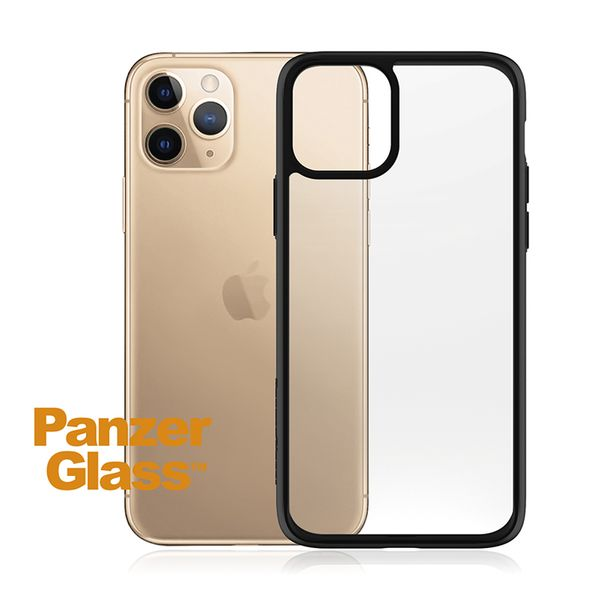 PanzerGlass ClearCase iPhone 11 Pro Max Black Edition