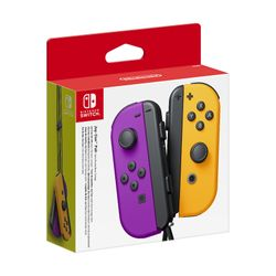 Nintendo Switch Joy-Con Pair Neon Purple/ Orange