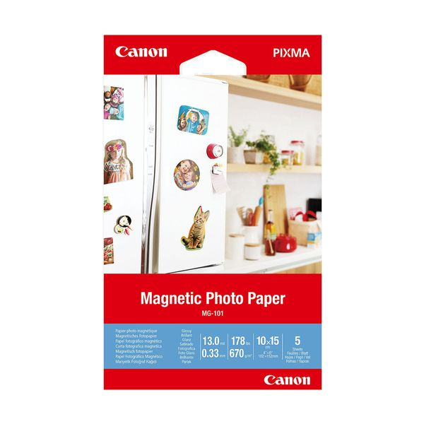Canon Magnetic Photo Paper MG-101 10x15cm