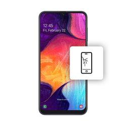 Αλλαγή Οθόνης LCD Samsung Galaxy A50 Black
