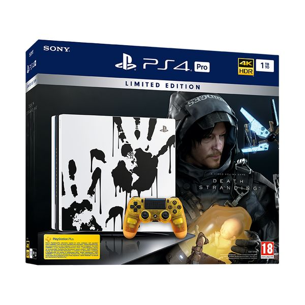 Sony PS4 Pro 1TB Death Stranding Limited Edition