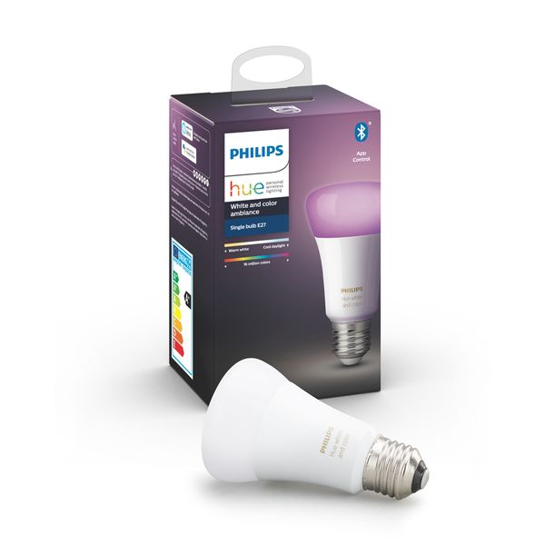Philips Hue White & Color Ambiance Single Bulb E27