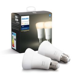 Philips Hue White 2x Single Bulb E27
