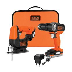 Black & Decker BDCK122S1S-XJ 12V Set