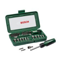 Bosch 2607019504 Κατσαβίδι με Σετ 46 Τεμαχίων