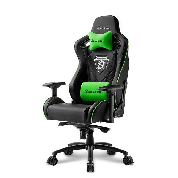 Sharkoon Skiller SGS4 Black/Green