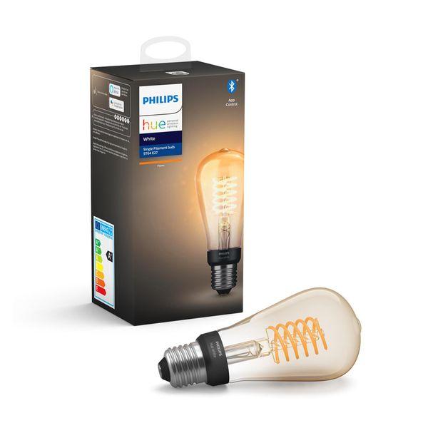 Philips Hue White Single Filament Bulb 7W ST64 E27