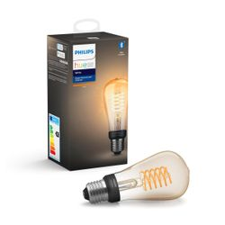 Philips Hue White Single Filament Bulb 7W ST64 E27