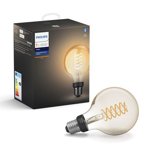 Philips Hue White Filament Bulb 7W G93 E27