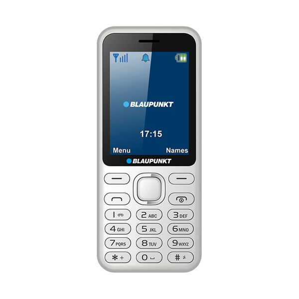 Blaupunkt FM02 White Dual Sim