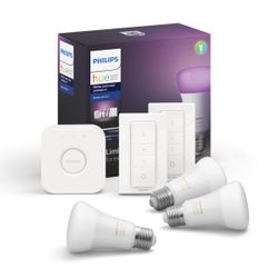 Philips Hue White & Color Ambiance Starter Kit E27