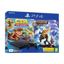 Sony PS4 1TB Κονσόλα & Crash Team Racing & Ratchet&Clank
