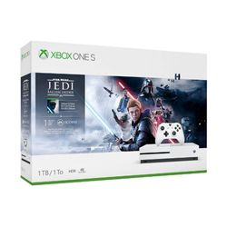 Microsoft Xbox One S Star Wars Jedi Fallen Order Bundle