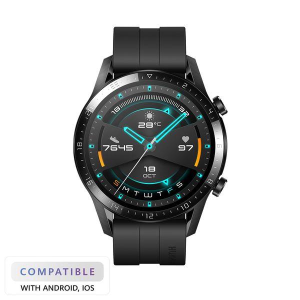 Huawei Watch GT 2 Black Fluoroelastomer