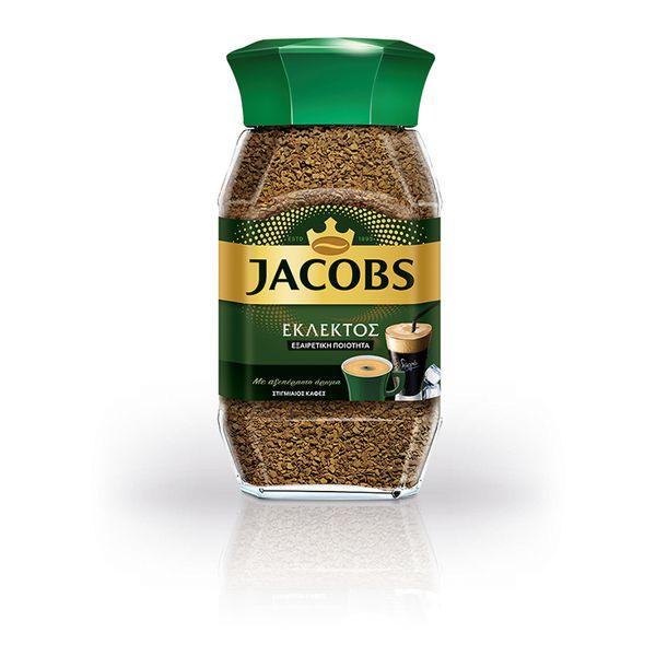 Jacobs Καφές Εκλεκτός Στιγμιαίος 100gr