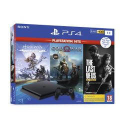 Sony PS4 1TB God of War & Horizon Zero Dawn & The Last of Us