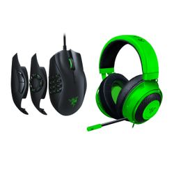 Razer Kraken Analog Headset & Naga Trinity Gaming Mouse