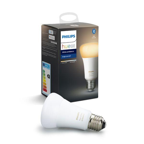 Philips Hue White Ambiance Single Bulb E27 Bluetooth