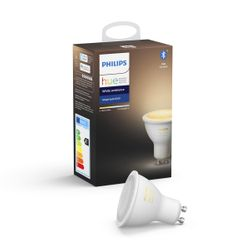 Philips Hue White Ambiance Single Bulb 5.5W GU10 Bluetooth
