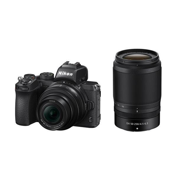 Nikon Z50 Kit DX 16-50mm & DX 50-250mm