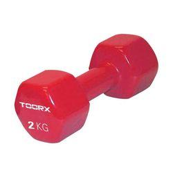 Toorx Βαράκι Χεριού Βινυλίου 2kg Κόκκινο