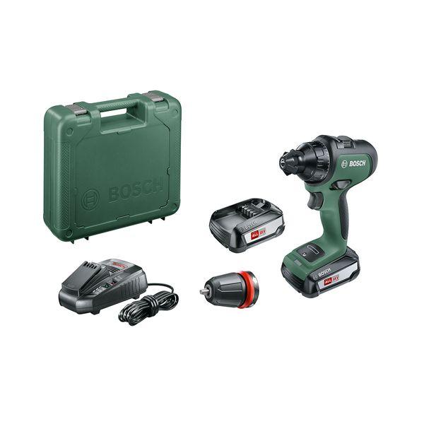 Bosch  AdvancedDrill 18 (2 μπαταρίες)