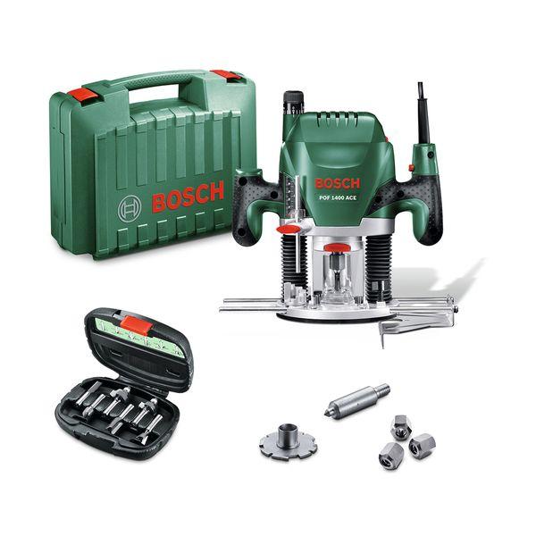 Bosch  POF 1400 ACE + SET