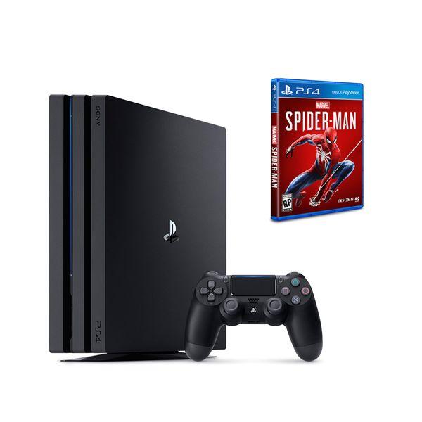 Sony PS4 Pro 1TB & Marvel`s Spider-Man