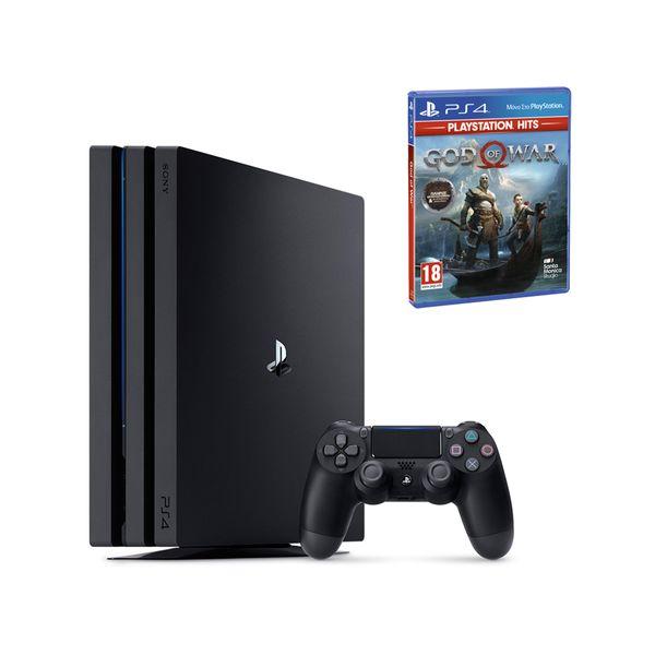 Sony PS4 Pro 1TB & God of War Playstation Hits