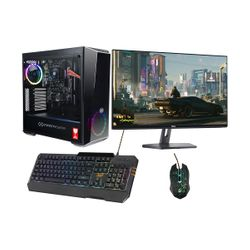 "Infinity Gear Core R2 PC & Dell 27"" 75Hz Monitor & ADX Gaming Πληκτρολόγιο & Ποντίκι"