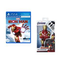 Marvel's Iron Man VR PS4 Game & Cable Guys Marvel Iron Man Βάση Στήριξης