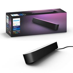Philips Hue White and Colour Ambiance Play Light Bar Extension Black