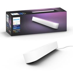 Philips Hue White and Colour Ambiance Play Light Bar Extension White