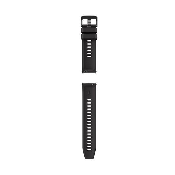 Huawei Watch GT & GT2 (46mm) Black Fluoroelastomer Strap