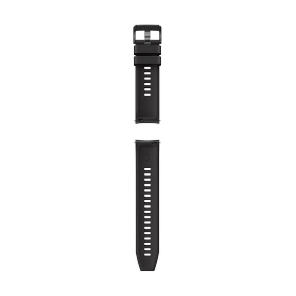 Huawei Watch GT & GT2 (42mm) Black Fluoroelastomer Strap