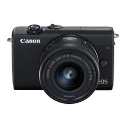 Canon EOS M200 15-45S RUK/SEE Black
