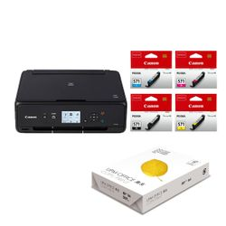 Canon Pixma TS5050 & CLI-571 (4 Colors) & UPM Office A4 80gr Χαρτί