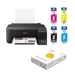 Epson EcoTank L1110 & 103 (4 Colors) & UPM Office A4 80gr Χαρτί