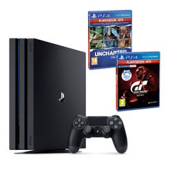 Sony PS4 1TB Pro & Gran Turismo Sport PS Hits & Uncharted Η Συλλογή του Nathan Drake PS Hits