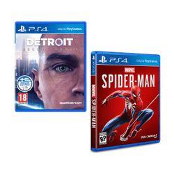 Detroit: Become Human & Marvel`s Spider-Man