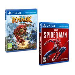 Knack 2 & Marvel`s Spider-Man