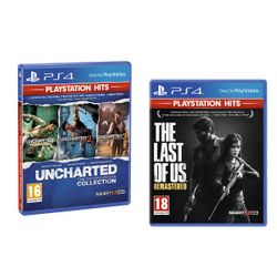 The Last of Us Remastered & Uncharted Η Συλλογή του Nathan Drake (PS Hits)