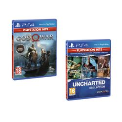 God of War PS Hits & Uncharted Η Συλλογή του Nathan Drake PS Hits