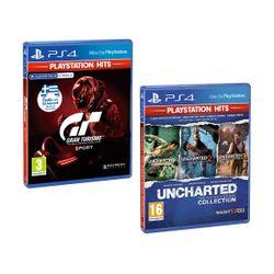 Gran Turismo Sport PS Hits & Uncharted Η Συλλογή του Nathan Drake PS Hits
