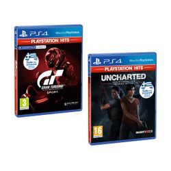 Gran Turismo Sport PS Hits & Uncharted: Αναζητώντας τον Χαμένο Θρύλο PS Hits