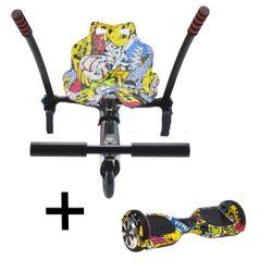 UrbanGlide 65 Lite Hoverboard & URBGY57317 Kart Pilot