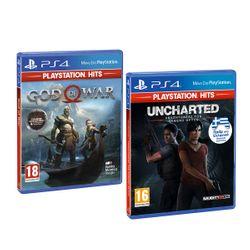 God of War (PS Hits) & Uncharted: Αναζητώντας τον Χαμένο Θρύλο (PS Hits)