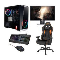 "Infinity Gear Core R5 PC & Dell 24"" 75Hz Monitor & ADX Gaming Καρέκλα, Πληκτρολόγιο & Ποντίκι"
