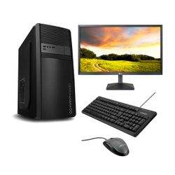 "Infinity Gear Core 1 PC & LG Monitor 22"" & Advent Ενσύρματο Πληκτρολόγιο & Ποντίκι"