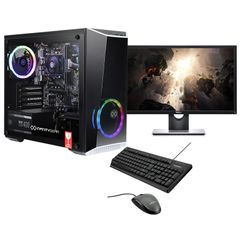 "Infinity Gear Core R2 PC & Dell Monitor 24"" 75Hz & Advent Ενσύρματο Πληκτρολόγιο & Ποντίκι"
